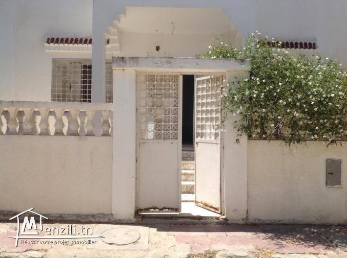 magnifique villa située en plein cœur de la cité el ghazela
