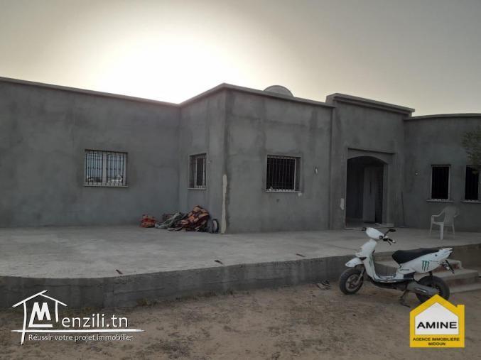 A vendre villa inachevée à Djerba Tezdaine Tunisie