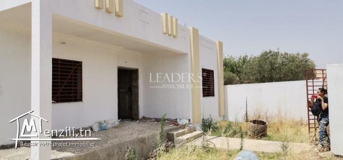 Maison  sur terrain de 500m² a Hammamet Sud