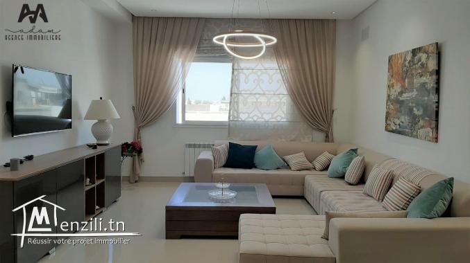 étage de villa S+2 vide à Nabeul