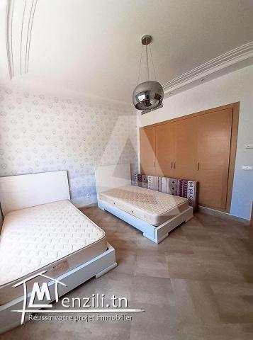 Location d'un appartement meublé à la Marina Gammarth