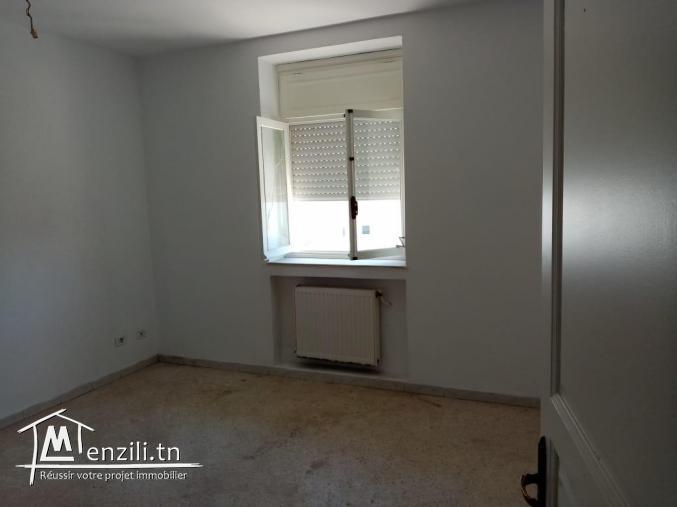 bel appartement de 116 m²  a borj louzir