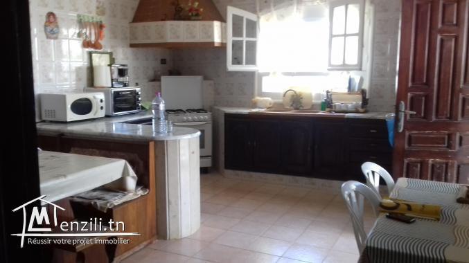 Belle Villa a Hammam Chott coté plage R+1
