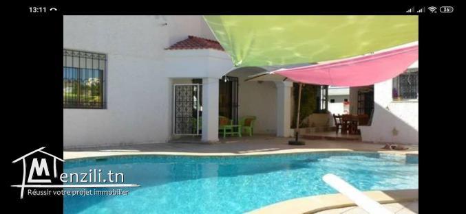 Villa avec piscine a Kelibia