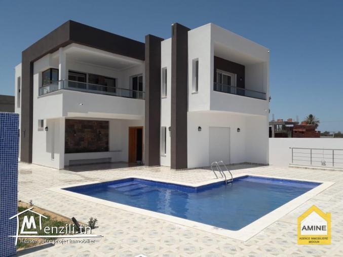 Villa de luxe de 300 m² en vente à Djerba Midoun Tunisie