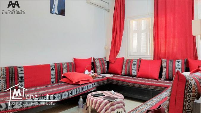 A Vendre villa sur deux niveaux à Mrezga