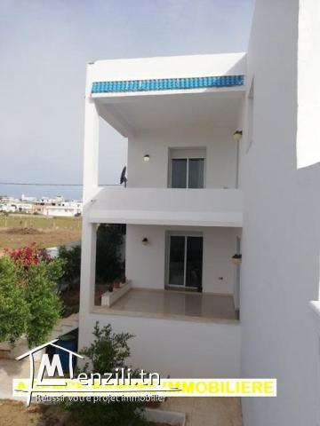 Jolie villa ds 375 a la plage el haouaria cap bon