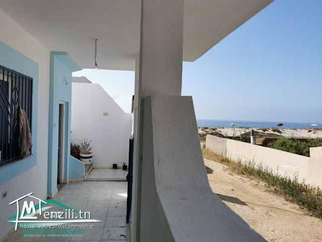 منزل  150 م² في شط مريغب على بعد 50 متر من  الشاطئ
