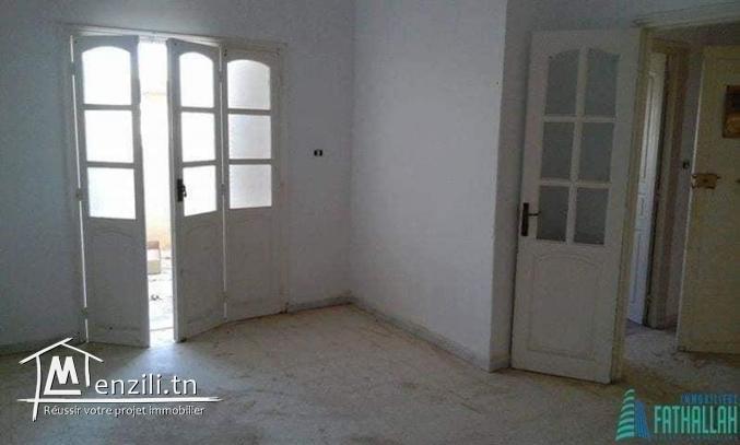 Maison ( s+2) et 2 studios à vendre à Eljem