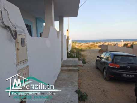 maison R+3 en 2ème position de  plage chat mrigueb entre kelibia et menzel temim