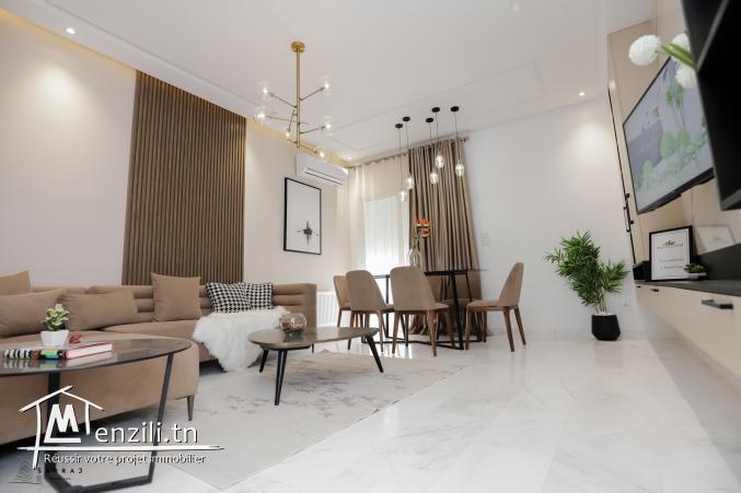 Appartements s+2 haut standing à vendre à Monastir