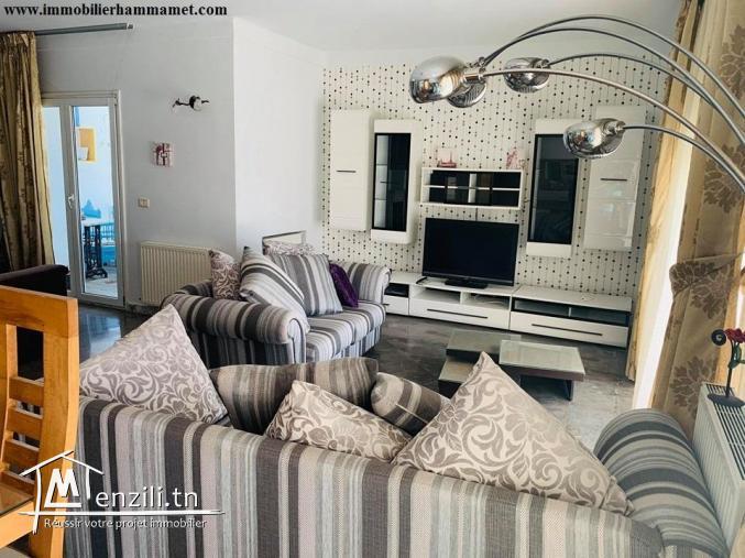 étage de villa Diana à Hammamet Nord