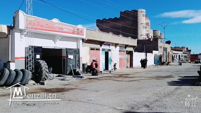 Villas+Terrain+7 Garages de commerce