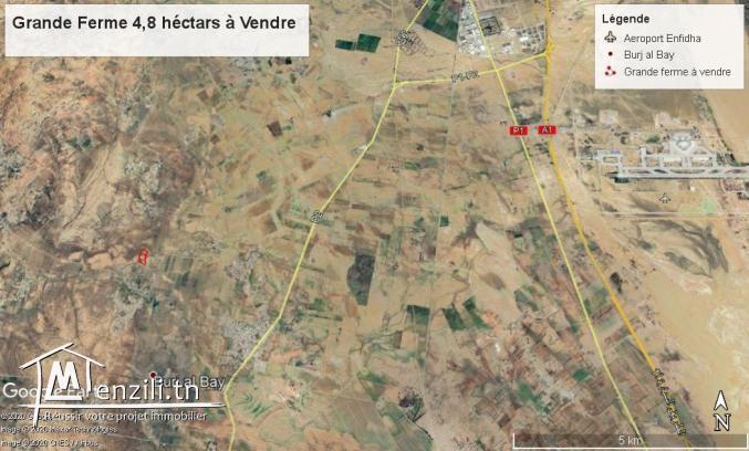 Terrain Agricole de 4,8 ha à vendre