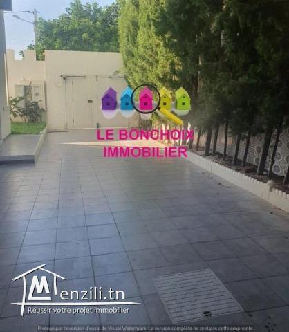 Un Studio Au RDC Meublé S+1 A Louer A Khezema Est - Sousse — à Khezema Sousse.