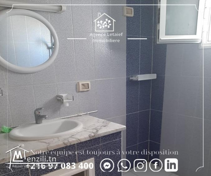 Appartement alouer s3 a hammam a Sousse