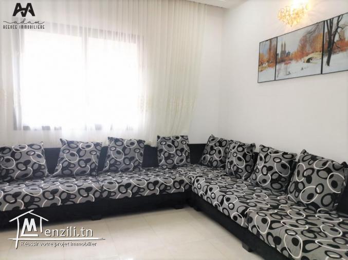 Un étage de villa S+1 meublé au 2ème étage à Lido, Nabeul