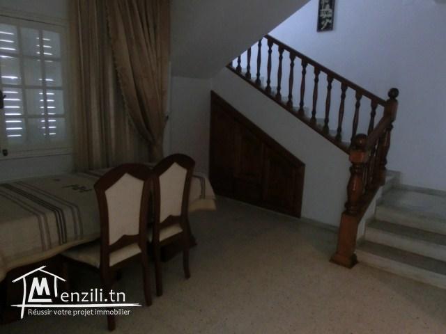 A louer une spacieuse villa à chott mariem