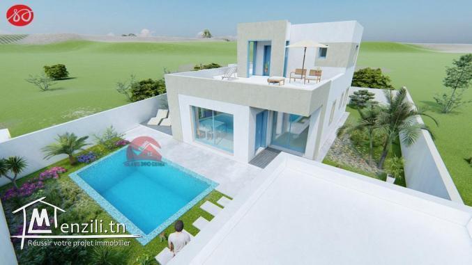 VENTE TERRAIN & CONSTRUCTION - RÉF V465 - Djerba