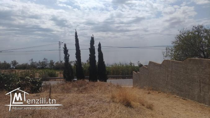 Chalet et terrain à Ghar El Melh à vendre