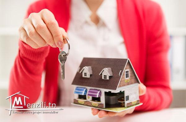 A louer une villa à un usage administratif