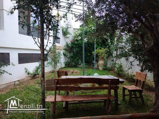 appartement S+2 avec jardin
