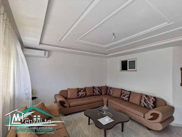 Rez de chaussé  130 m² meublé et équipé à jinen Mansourah Kelibia