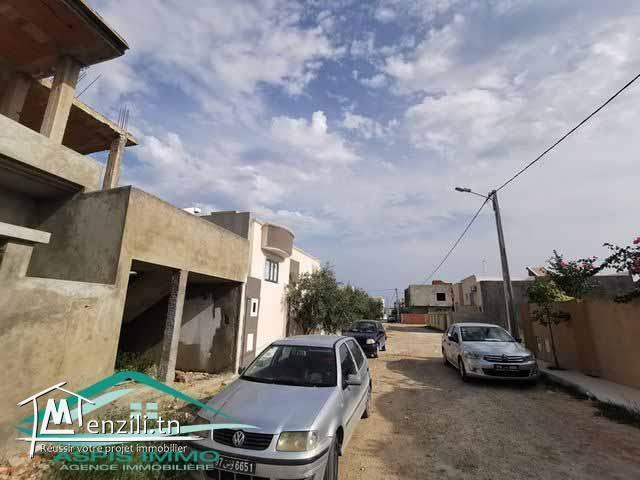 maison inachevée  136 m² à cité Riadh 3 Kelibia