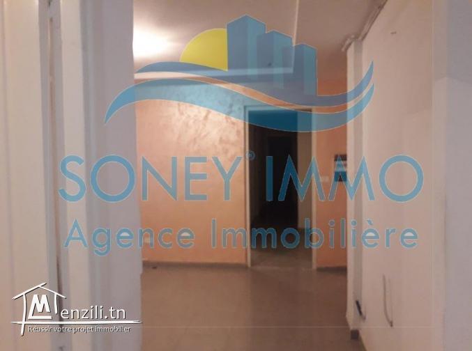 Appartement route de M'harza km 1,5 au 4 ème étage avec ascenseur