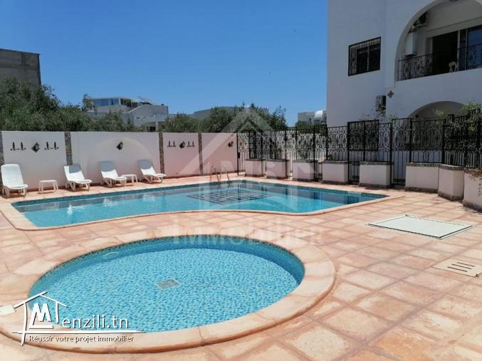 Des appartements avec piscine à vendre à Hammamet