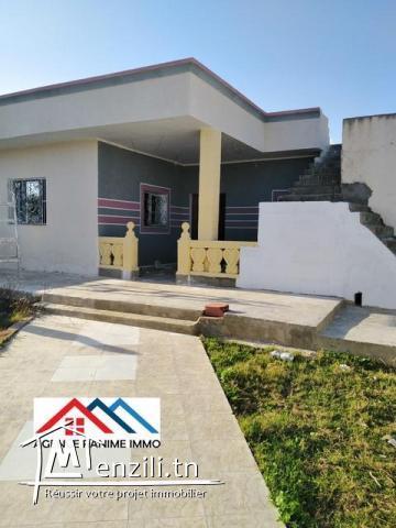 Maison a l'entouré de kélibia ds 1200m2
