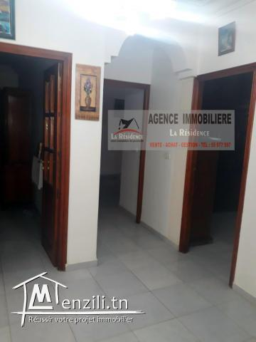 Réf M103 étage d'une maison à zarzouna.