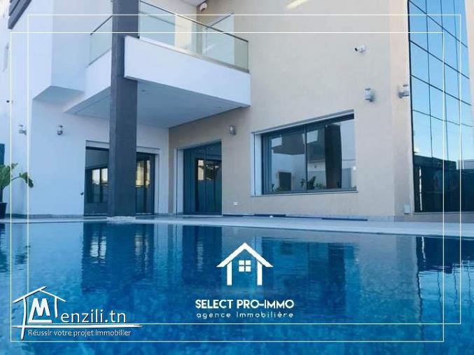 A vendre Villa S+4 à Hammamet Nord -Ref129a