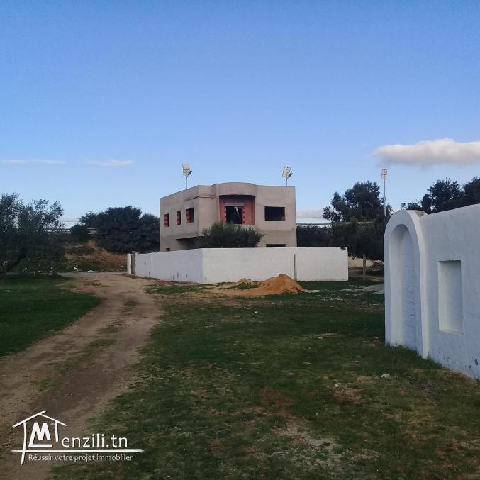 Villa Inachevee Barraket Sahel Hammamet