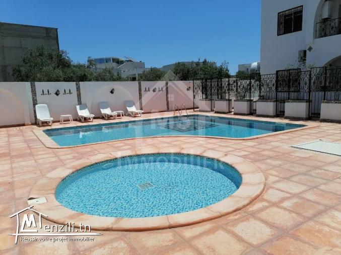 Un appartement meublé S+1 à Hammamet