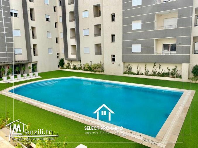 A vendre Appartement S+1 de 97m² à Mrezga Nabeul -Ref125a