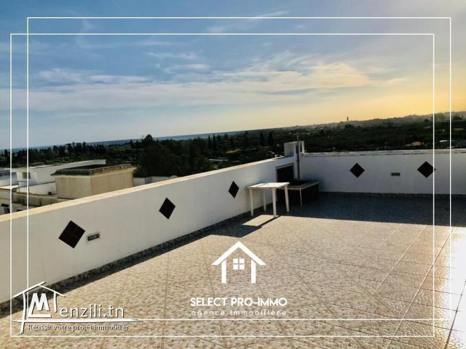 A Louer étage de villa S+2 à Béni Khiar Nabeul - Ref124a