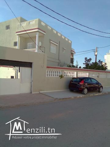 VILLA A CITE EL JAWHARA MEGRINE - 2 ETAGES SEPARES