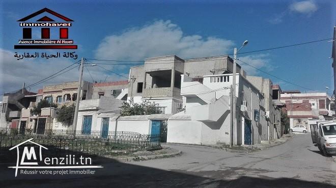 villa fait le coin  à el wardia 5