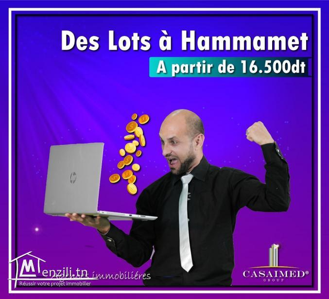 TERRAIN DE 350 M A HAMMAMET