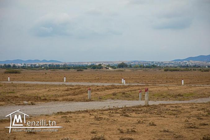 terrain de 186 m2 a hammamet