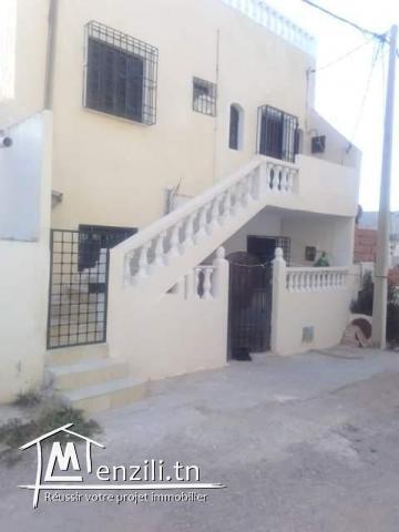 maison 2 niveaux zaghouan