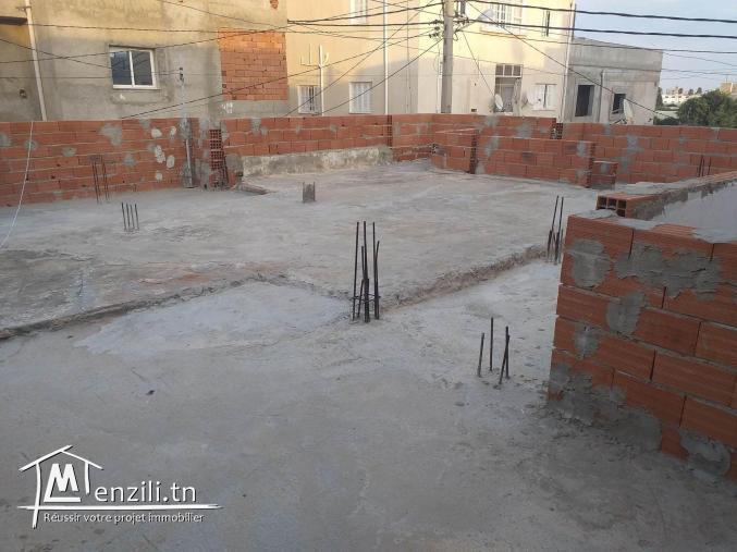 maison à vendre 105 m2 à Monastir (cité sidi nasser) Tél: 97717457
