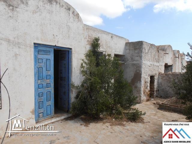 Maison style arbi ds 2061m2 à el haouaria 8045