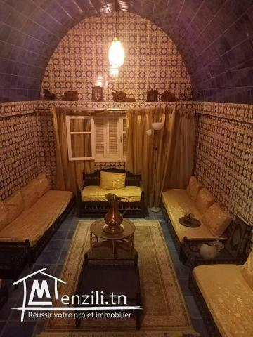 un étage de villa de 217 m2 situé à Bardo