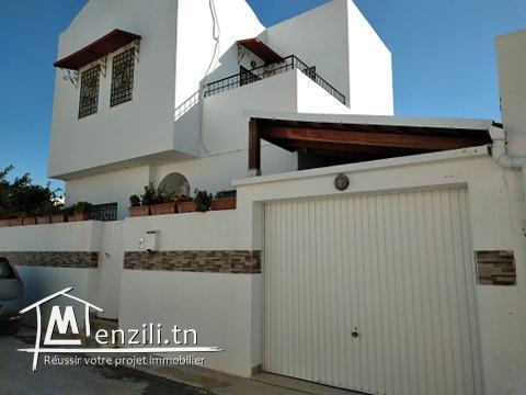Villa en S+3 de 180m² sur un terrain de 150m² à Hammamet