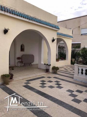 villa à vendre au cité Abaab mornag