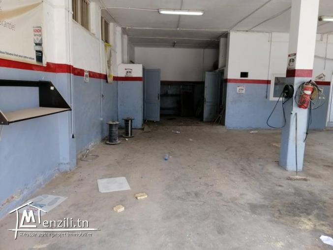 Atelier pour la mécanique ou autre activité