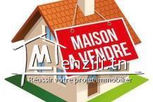 Villa à vendre de 240 m² à cité bennassir gouba3a  Manouba