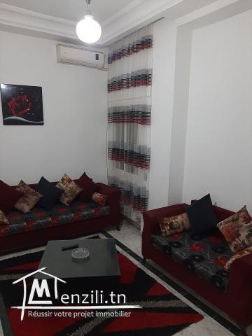 S+1 meuble a Ennaser par mois